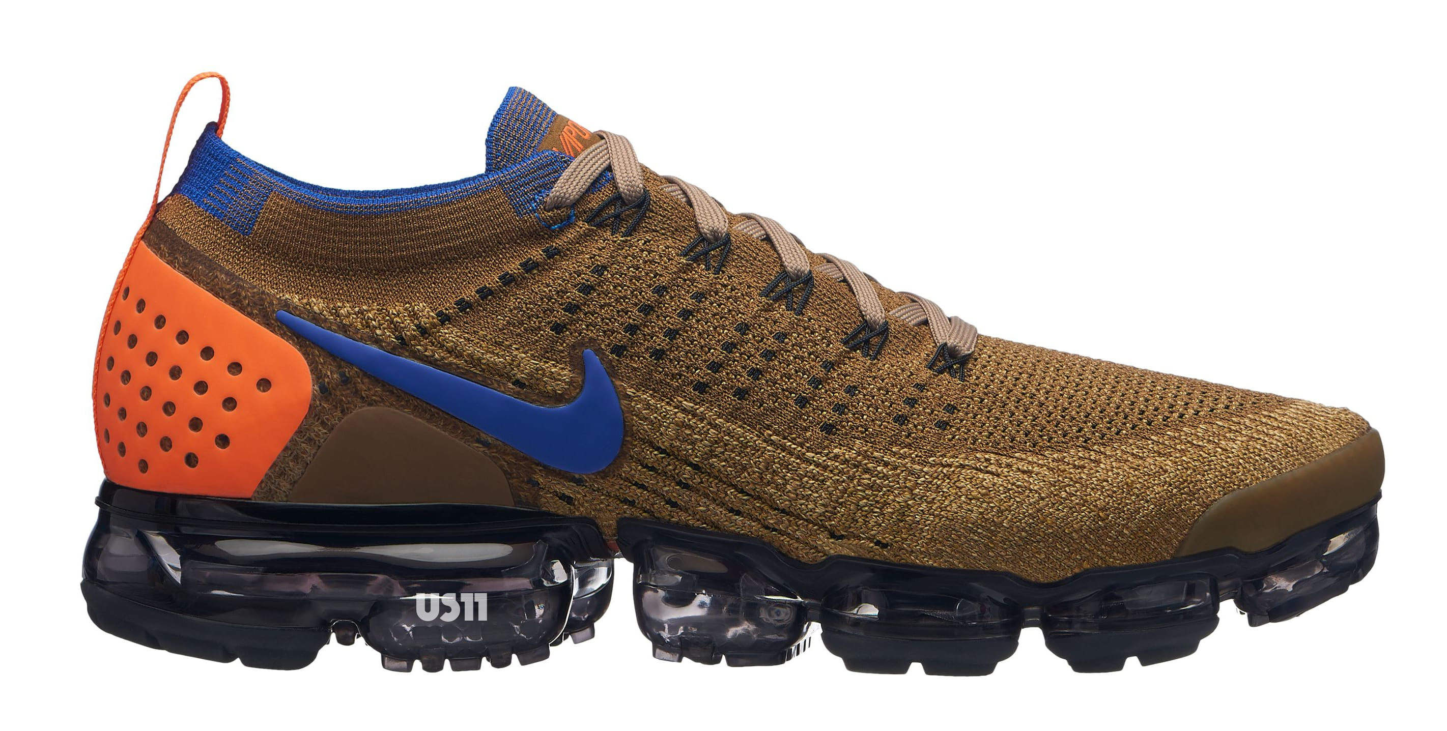 2018 Nike Air VaporMax Flyknit Color Blue