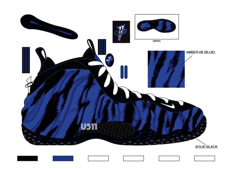 Memphis Tigers  Nike Air Foamposite One PE Is Releasing Soon 8247017b00