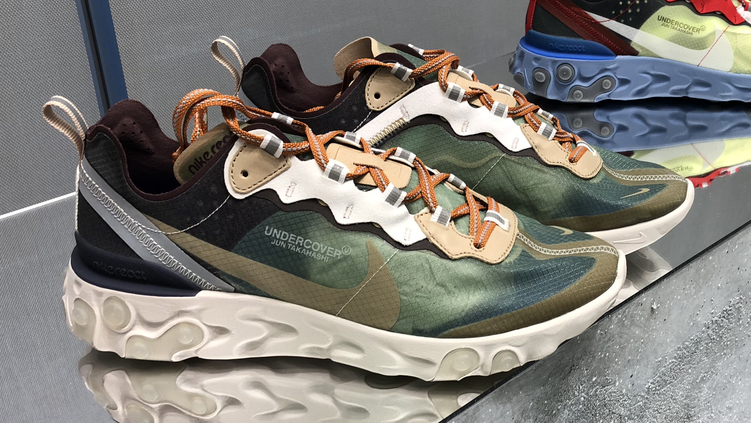 5bf21d9c787e Undercover x Nike React Element 87 New Images