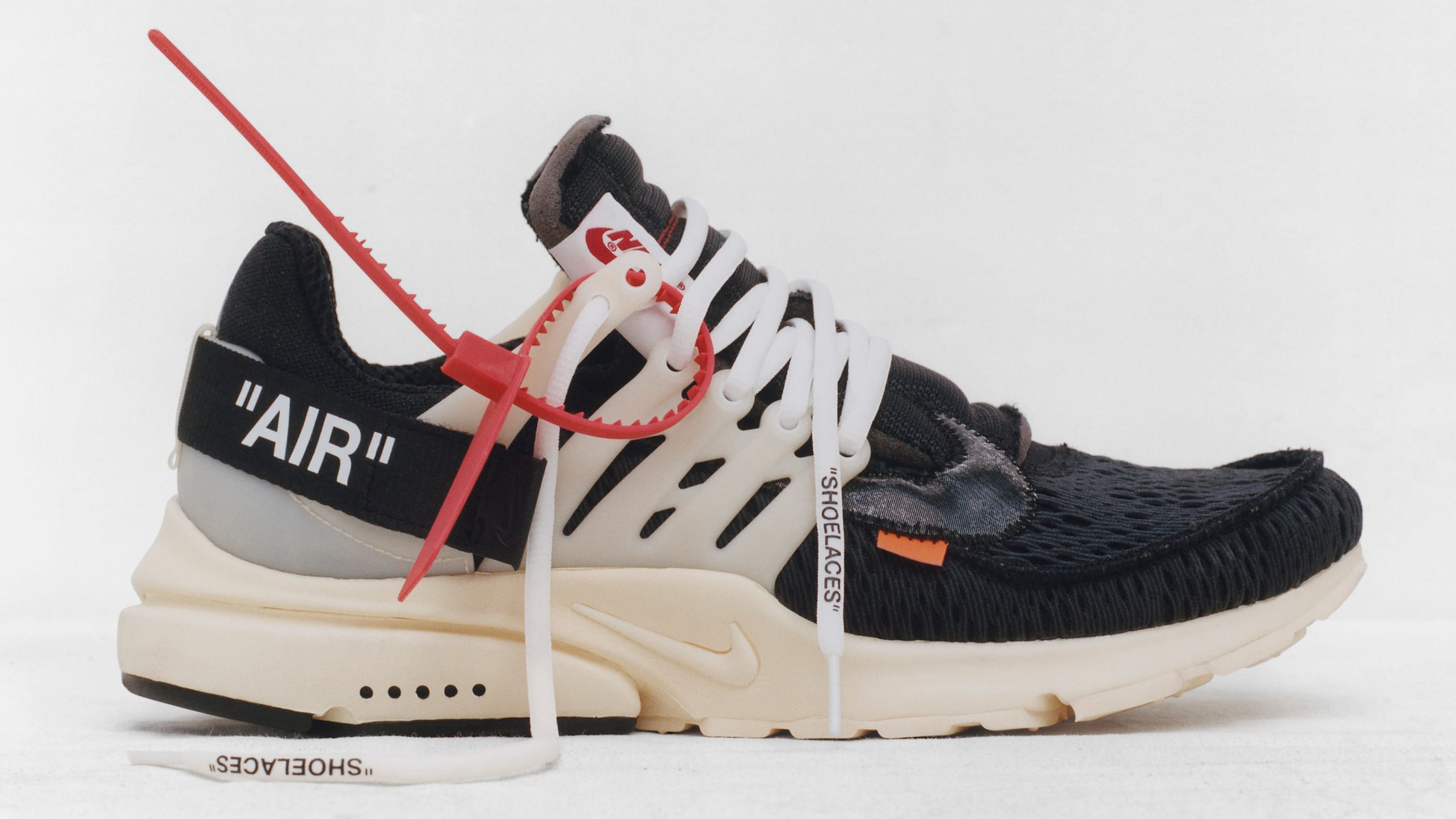 Nike Air Presto Off White x Virgil Abloh red label The Ten