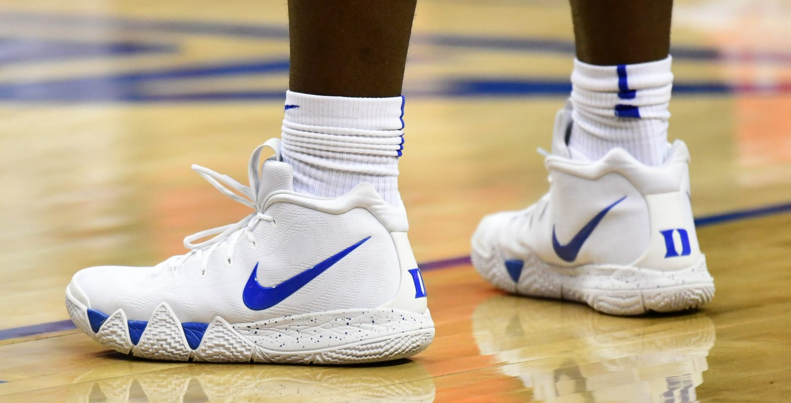 Nike Kyrie 4 Zion Williamson Duke PE