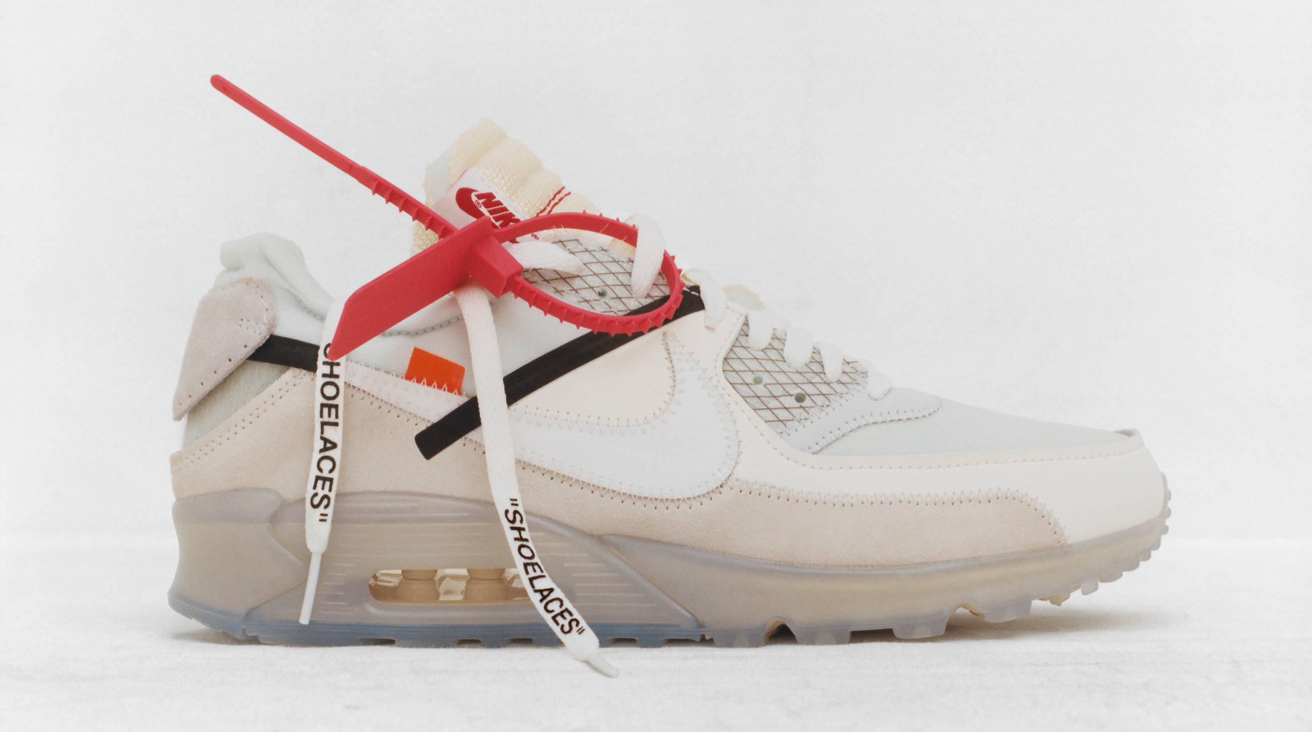separation shoes 3730f 476b8 Off-White x Nike Air Max 90 TD  Desert Ore   Black  Release Date   Sole  Collector