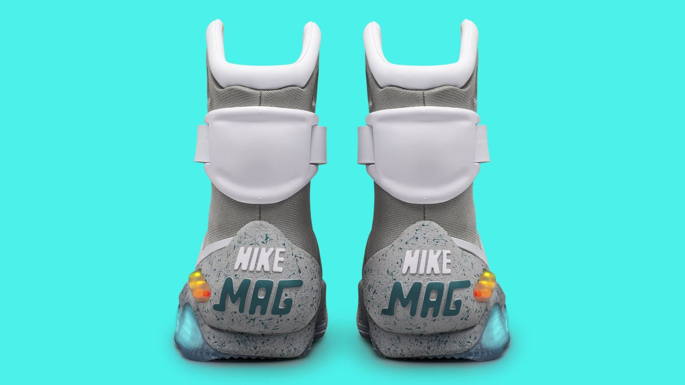 online retailer 2c7b5 5bcd9 What s the current market value of every Nike Mag sneaker