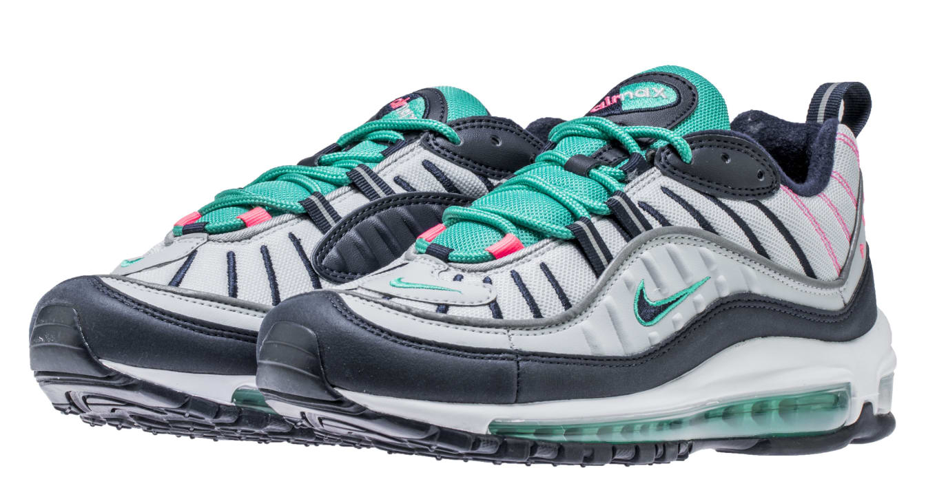 newest c3f59 768a5 Best Look Yet at  South Beach  Air Max 98s