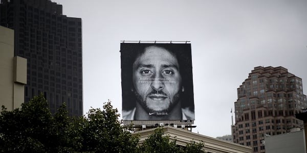 Nike's Colin Kaepernick Ad Has Been Nominated for an Emmy