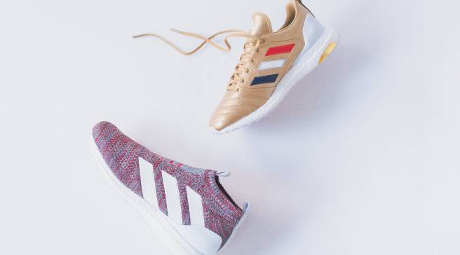 info for ec0ce 5237b Patriotic Pairs From Kith and Adidas Soccer