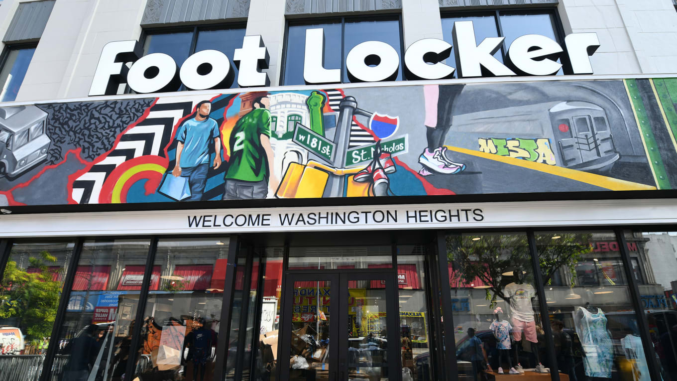 Foot Locker and Nike\'s Washington Heights Power Store Opening | Sole ...