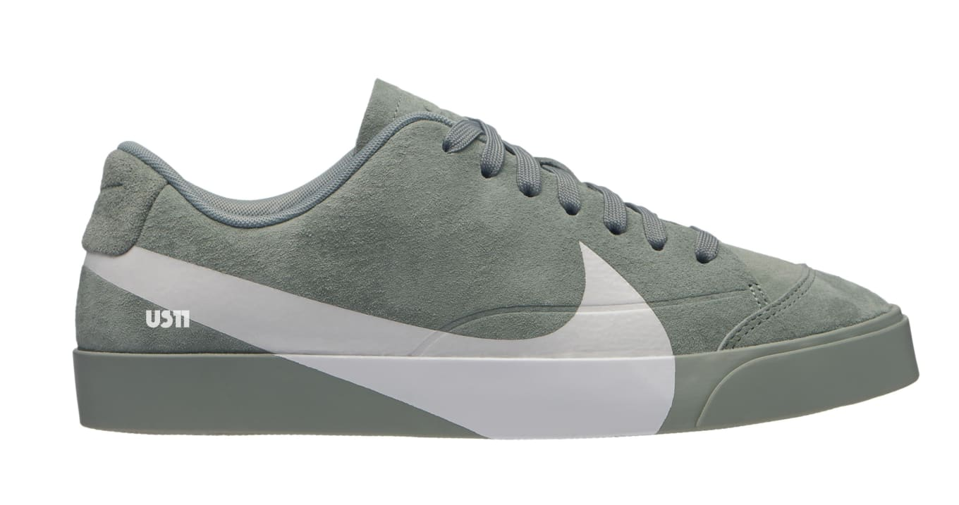 sale retailer b3d82 67b6a Nike Blazer City Low XS 'Green' and 'Pink' Release Date ...