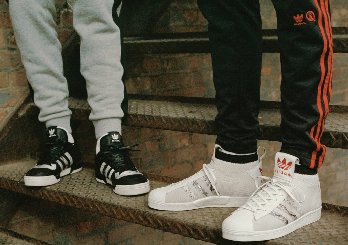 competitive price 52180 d71d8 United Arrows and Sons x Adidas Ultra Star B37111 Rivalry Low B37112 ...