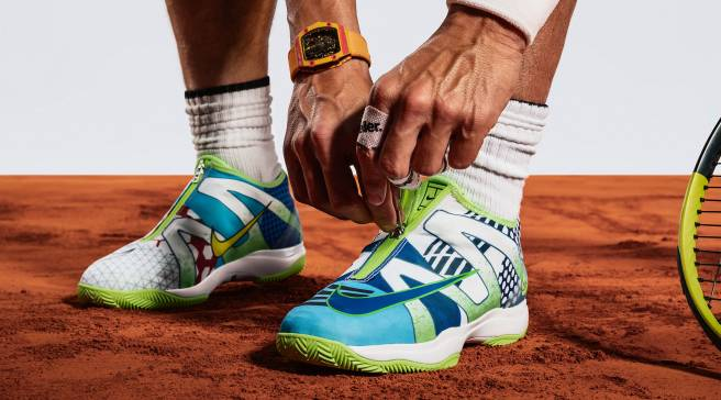 free shipping fb2bf 3e329 Rafael Nadal Is Getting His Own  What The  Shoe