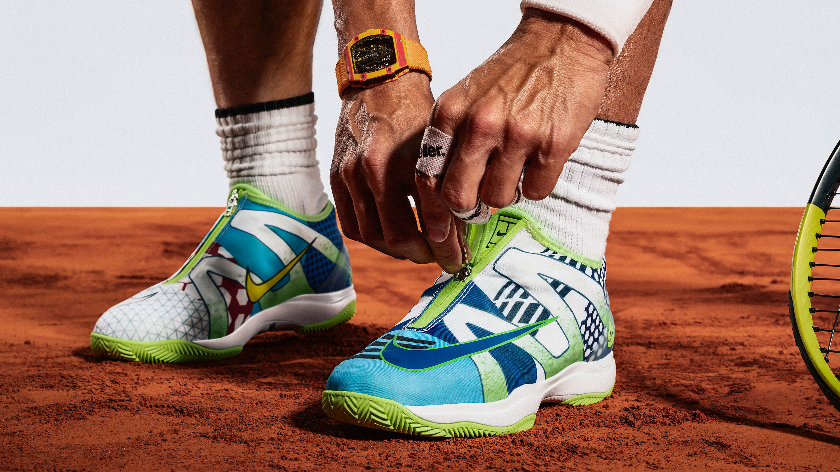 b1c431a2593 NikeCourt Cage 3 Glove 'What the Rafa' Release Date | Sole Collector