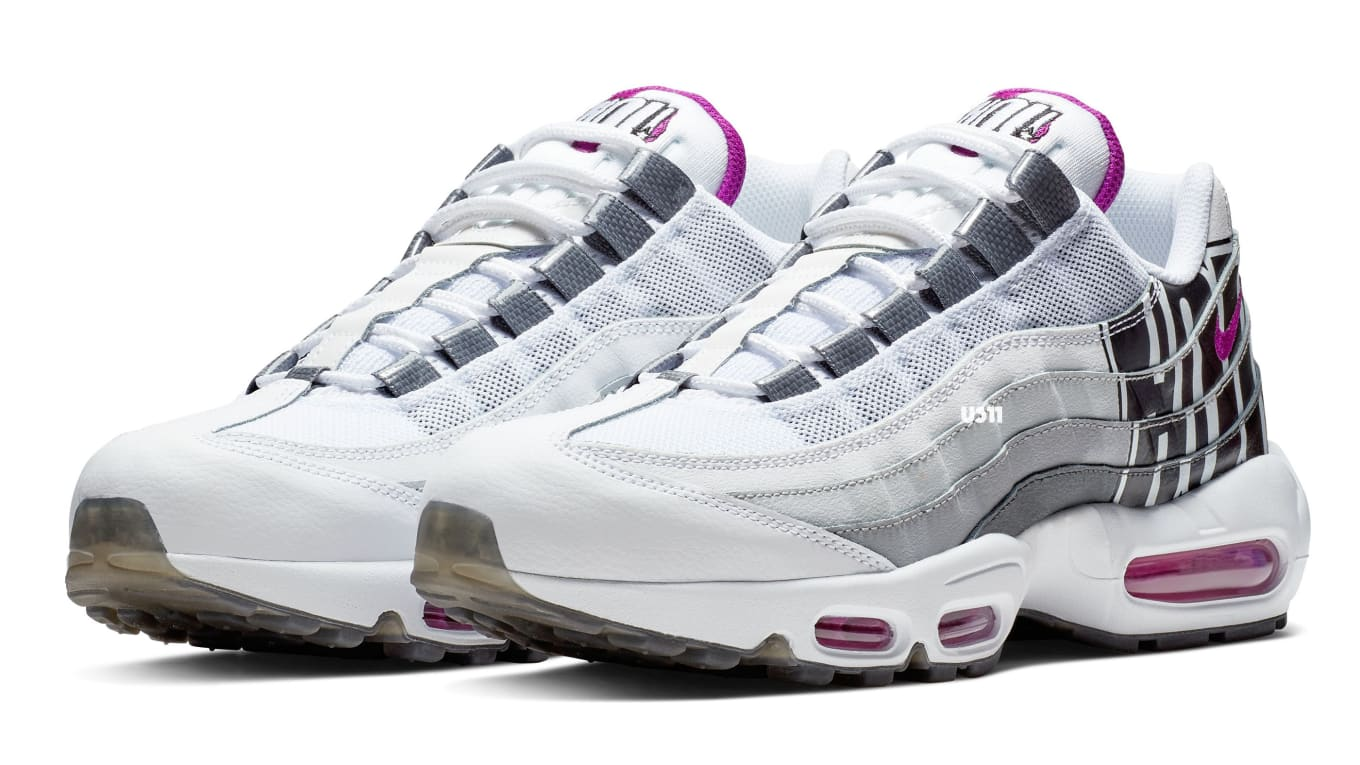 2d9d5e8414 Nike Air Max 95 'Houston' Vivid Purple/Black/Cool Grey Release Date ...