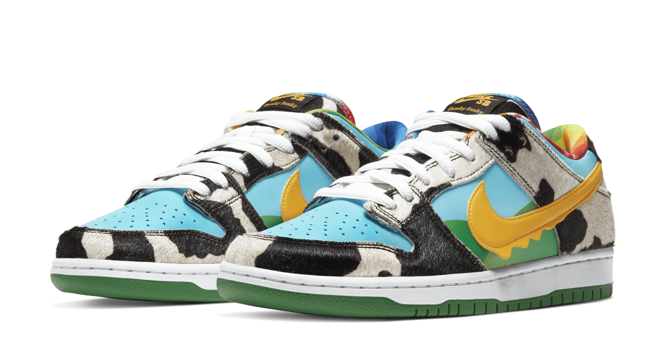Ben & Jerry's x Nike SB Dunk Low Chunky Dunky Release Date ...