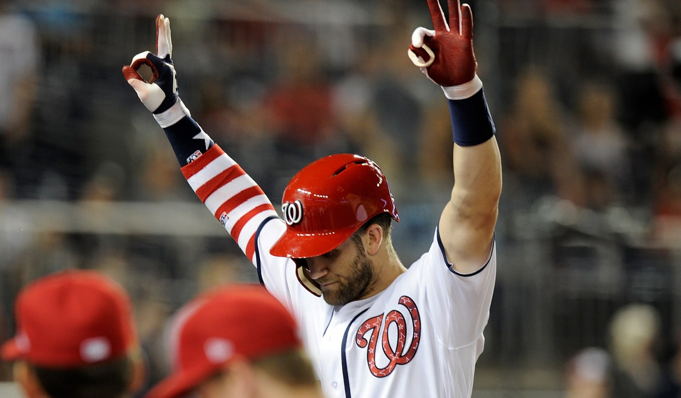 10d53c5ec5b0 Under Armour Celebrates 4th of July With Cleats for Bryce Harper