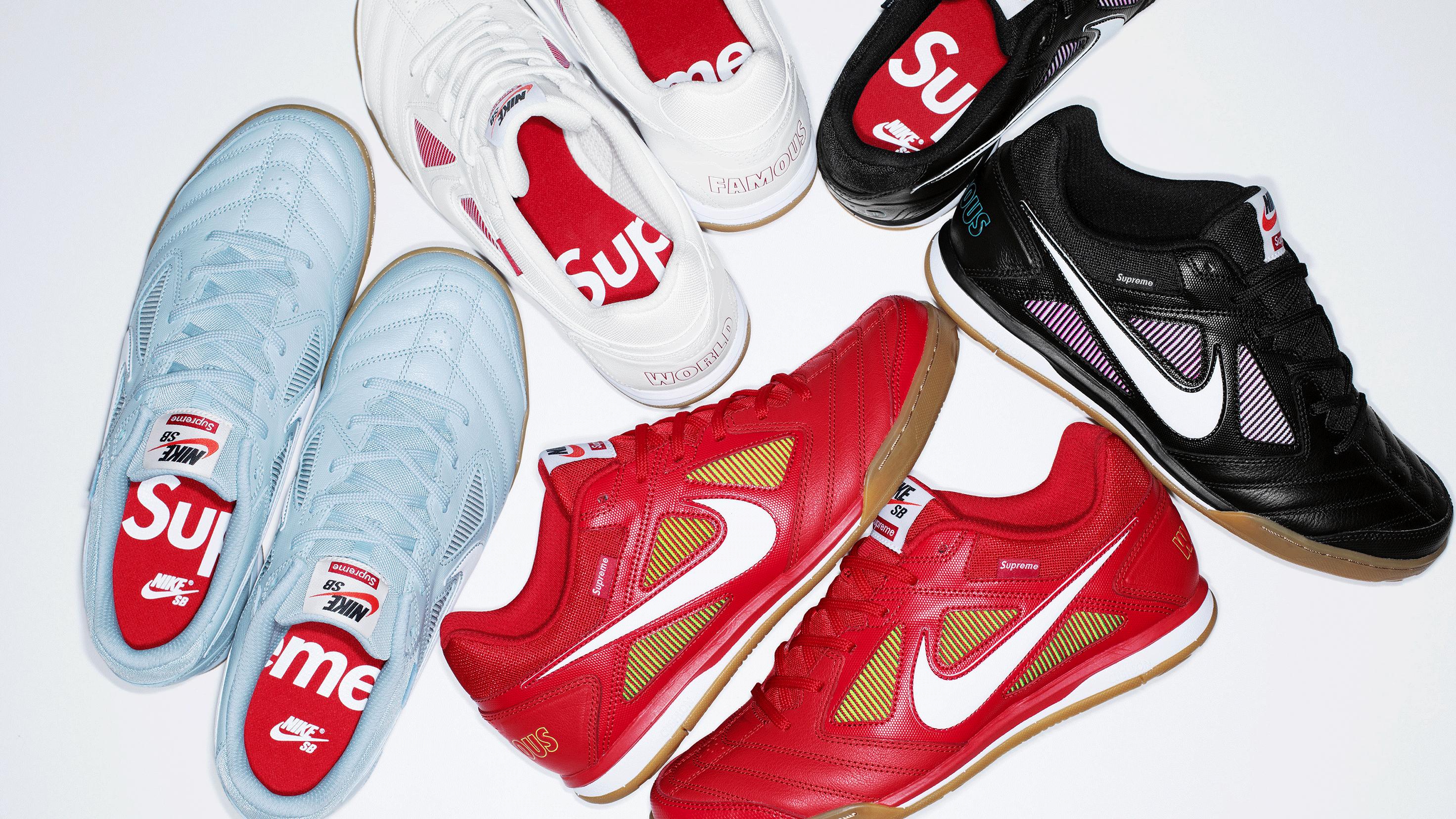 ganado Emoción comerciante  Supreme's Nike SB Gato Collab Is Dropping on SNKRS