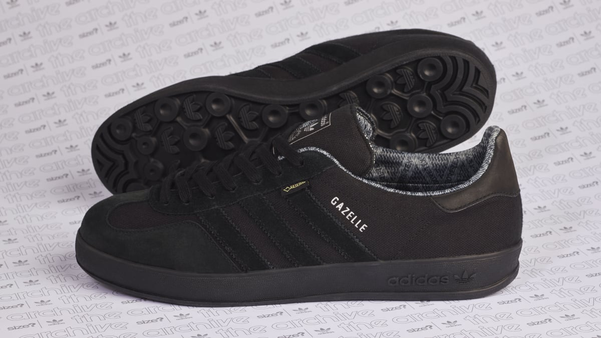 Size  Exclusive Adidas Gazelle Indoor  Gore-Tex  Release Date   Sole  Collector 82306e37c8ea