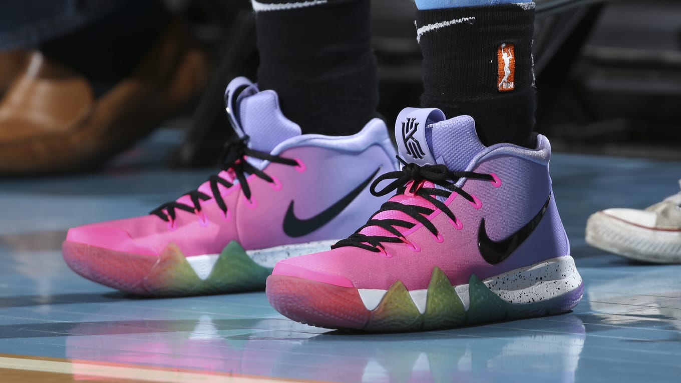 acbc8dacc42d Nike Kyrie 4s Get the  Be True  Treatment