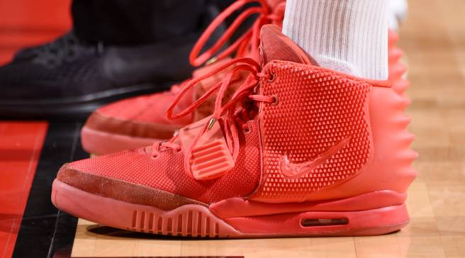9723c5e7c1bf9  SoleWatch  P.J. Tucker Plays in  Red October  Nike Yeezys Again