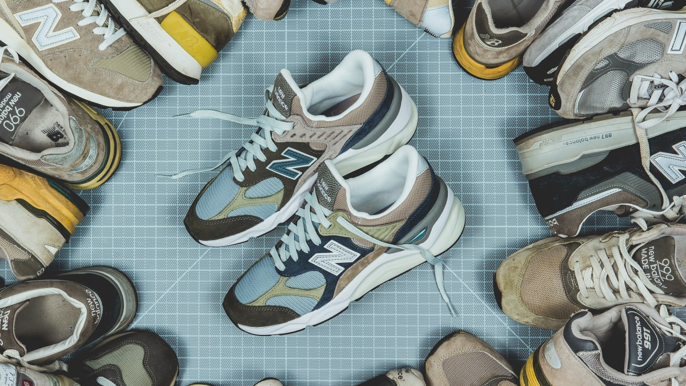newest fd171 6096f Packer Shoes x New Balance X-90 Recon 'Infinity Editiion ...