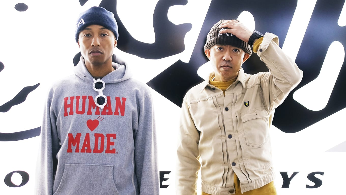 b88cb7c10 Pharrell Debuts New Human Made x Adidas Collab. Previewed in a new  photoshoot.
