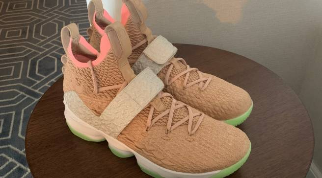 367adad9f784 Detailed Shots of the Yeezy 1-Inspired  Breezy  LeBron 15