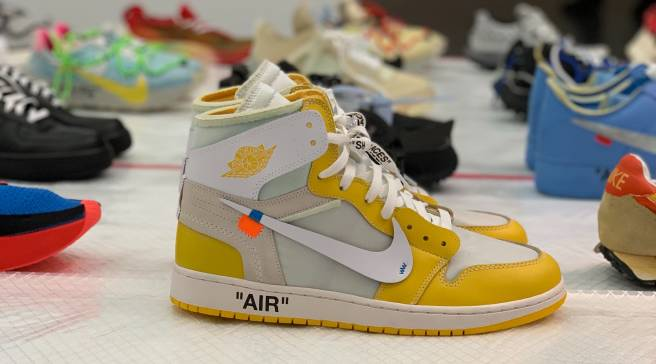 eaa8bcc691d Virgil Abloh Is Displaying Off-White x Nike Samples at MCA Chicago