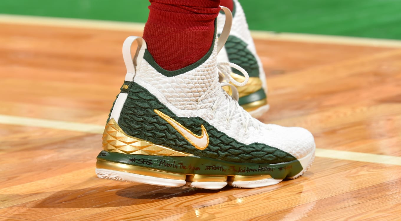 4f9cbbbdd1e3  SoleWatch  LeBron James Debuts  SVSM Air Zoom Generation  LeBron 15. Where  it all started.