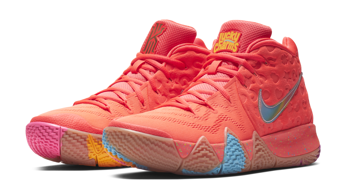 nike kyrie 4  u0026 39 cereal pack u0026 39  house of hoops early release date