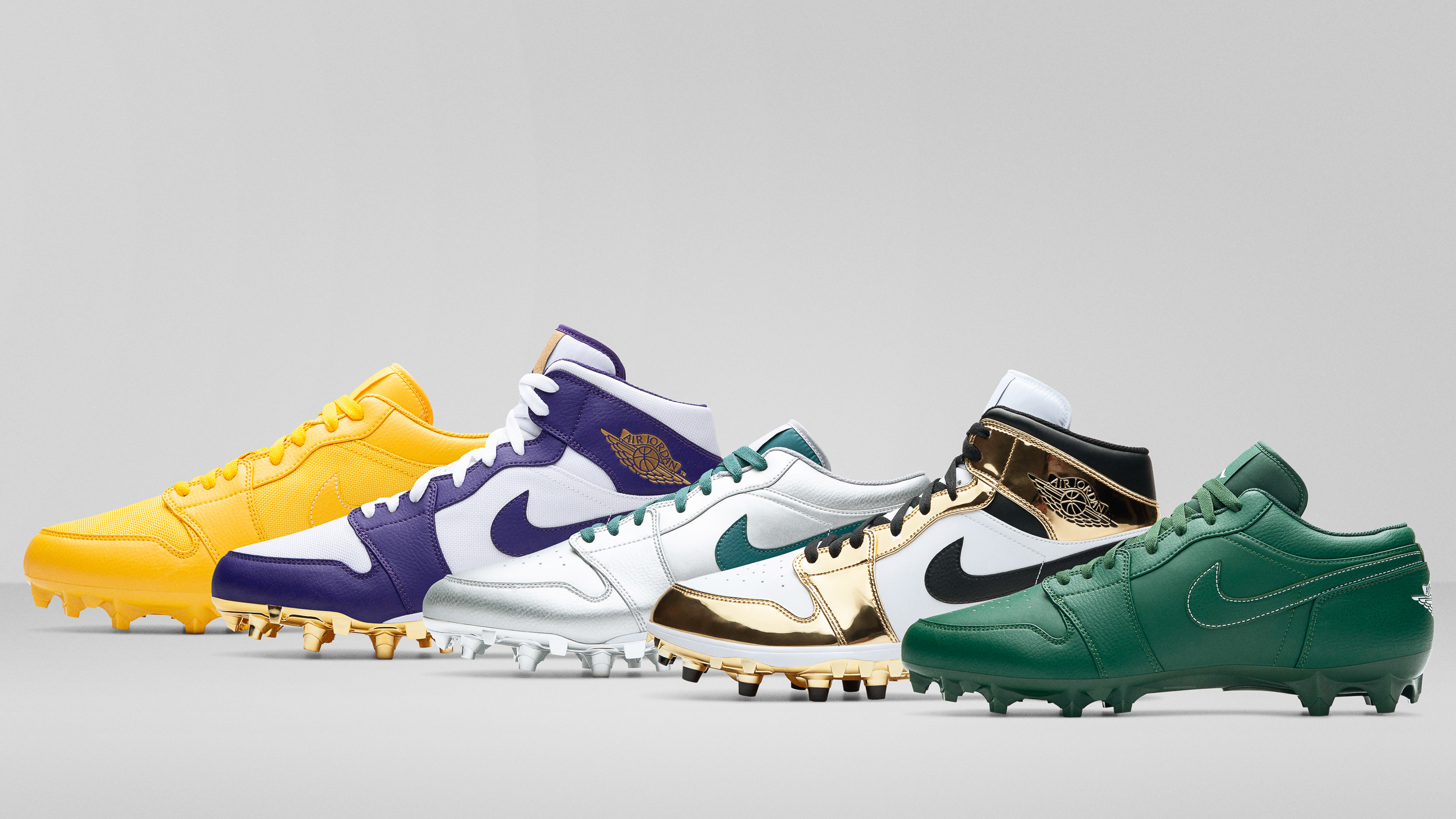 Air Jordan 1 Td Pe Cleats For Nfl Opening Day Sole Collector