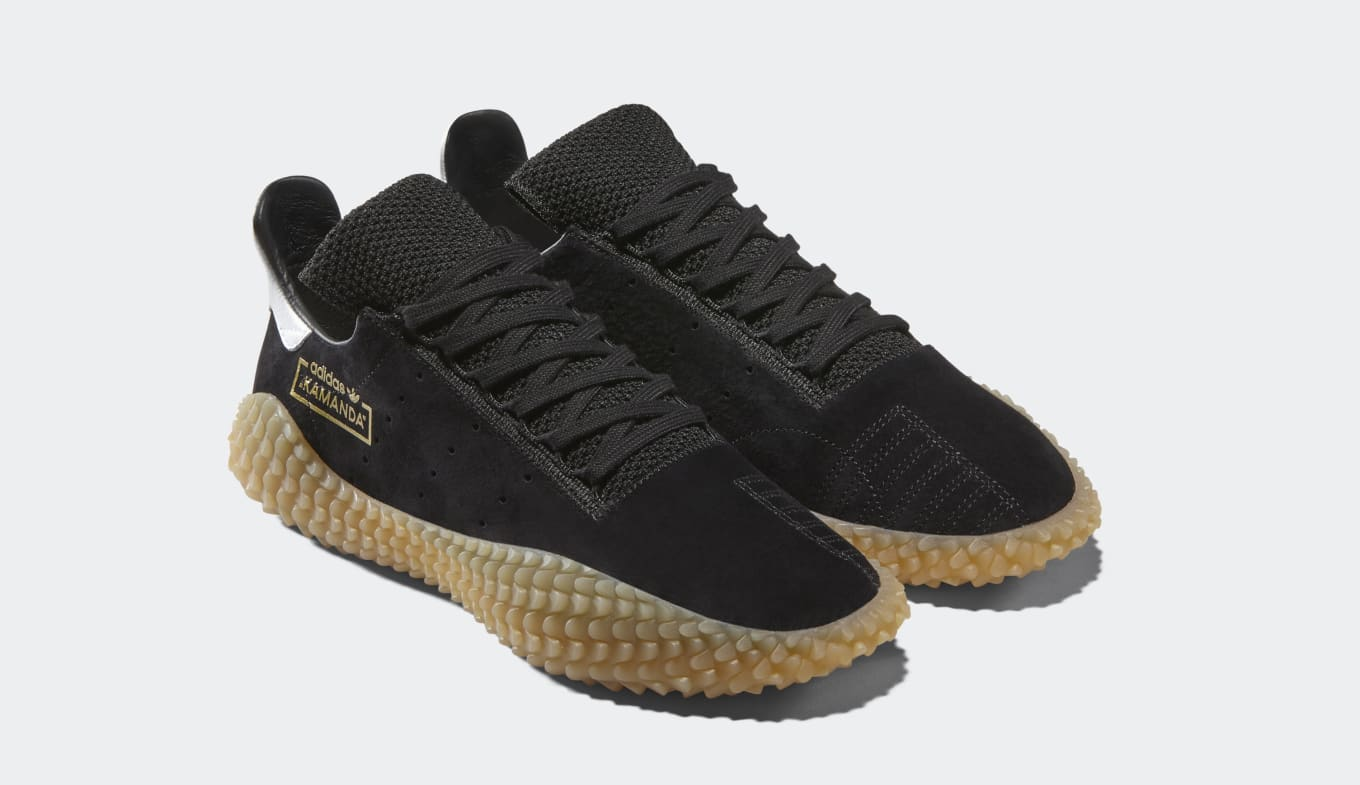 reputable site 4c8ce 54c14 Adidas Originals Kamanda Black/Gum CQ2220 and Collegiate ...