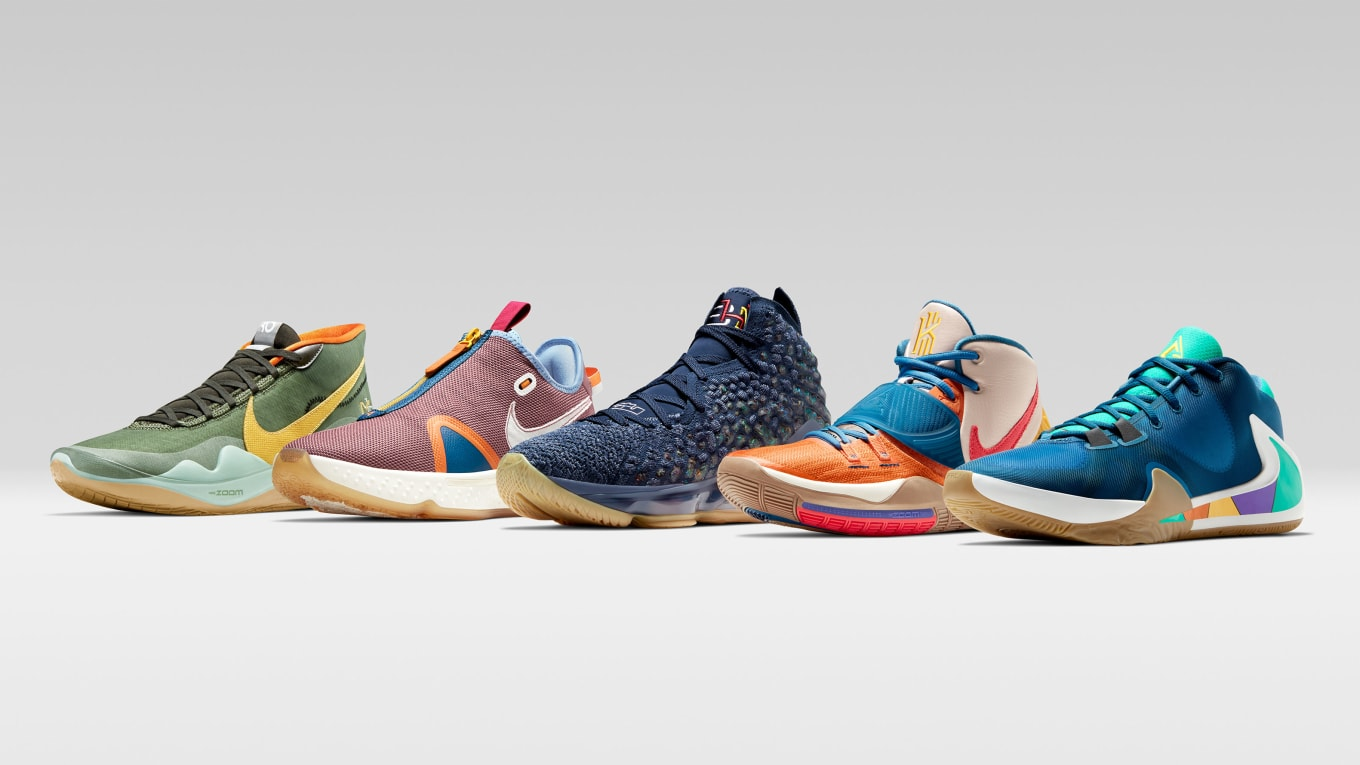 Nike Basketball 'Black History Month' 2020 PE Collection ...