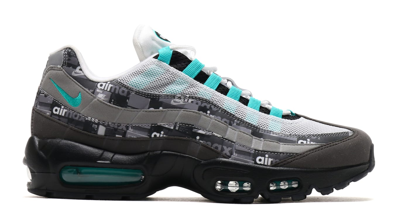 5822ce24 Atmos Announces Release Date for One Pair of 'We Love Nike' Pack. 'Jade' Air  Max 95s dropping first.