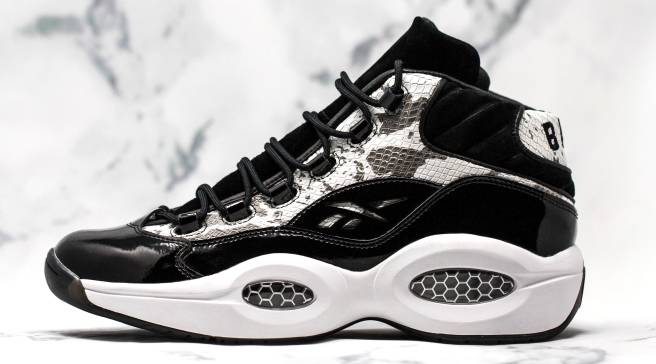 BAIT Brings Back the  Snake  Reebok Question Mid b820c4a63