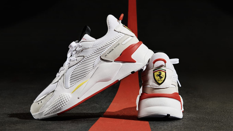 e113a12d2501 PUMA RS-X  Scuderia Ferrari  Puma White Puma White Rosso Corsa ...