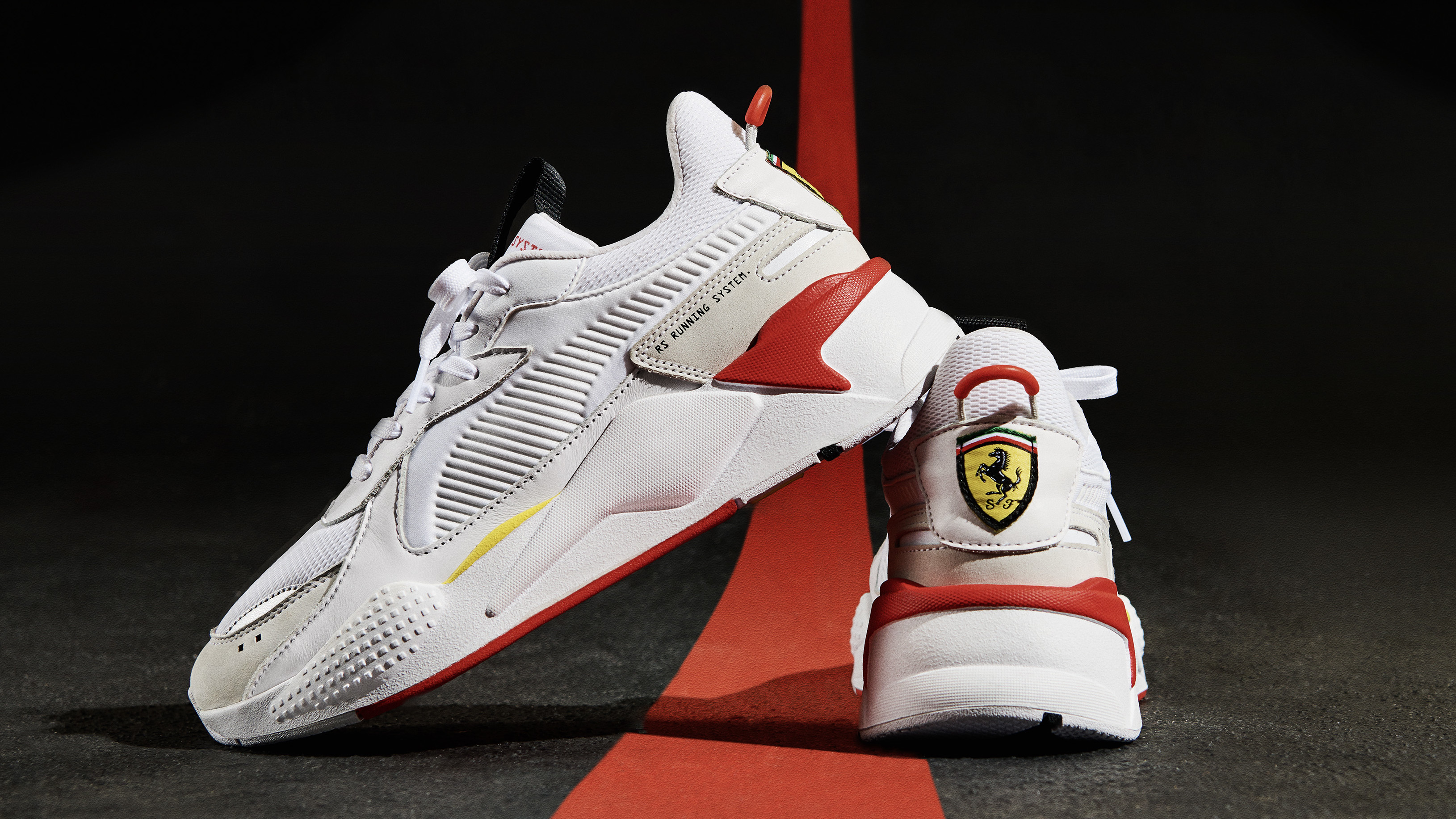 PUMA RS-X 'Scuderia Ferrari' Puma White/Puma White/Rosso ...