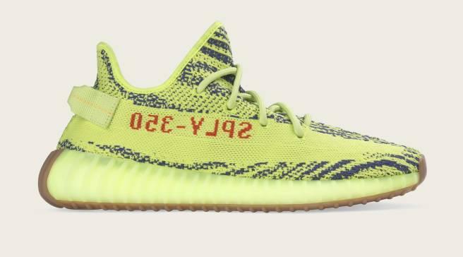 81802a32544b  Semi Frozen Yellow  Adidas Yeezys Leak