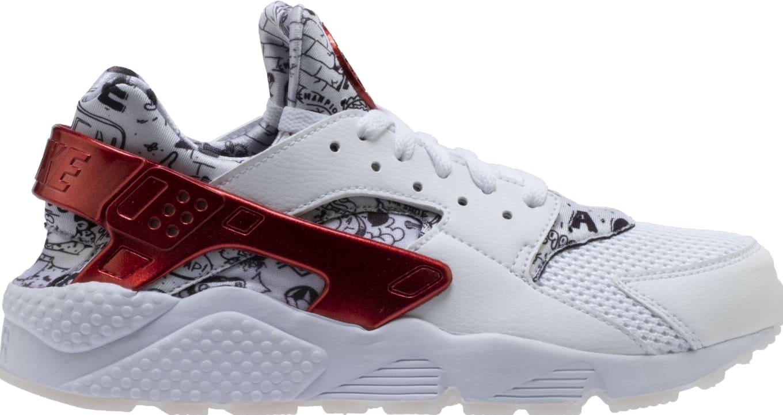 340e6fd6450d Shoe Palace x Nike Air Huarache White Red Platinum  Joonbug  AJ5578 ...