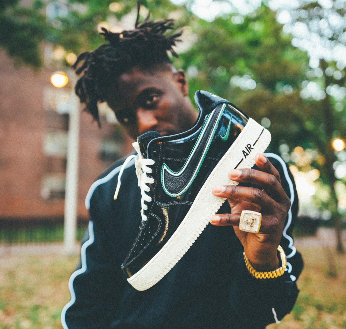54a6e2af44 Nigel Sylvester x Nike Air Force 1 iD Release Date | Sole Collector