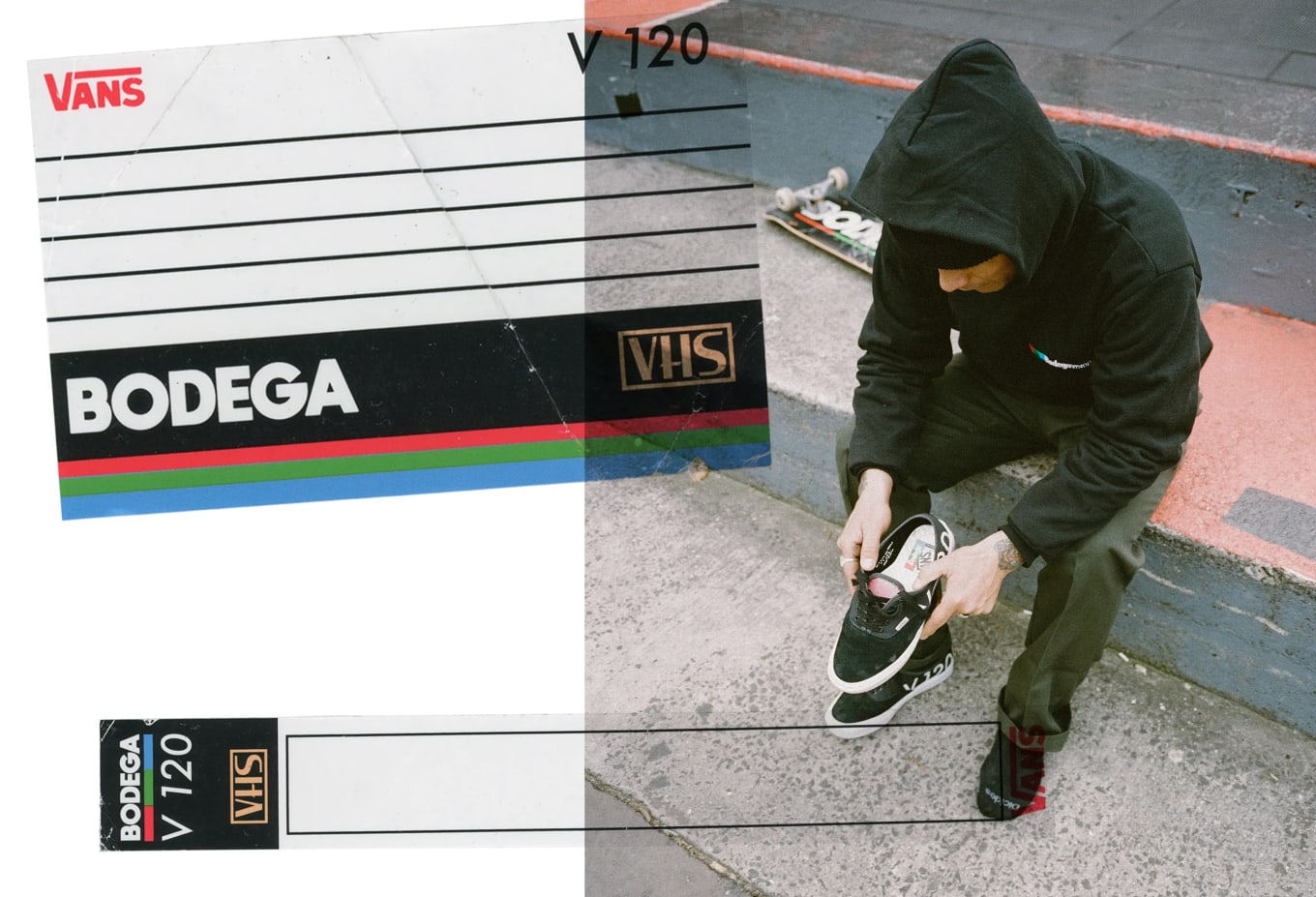 Bodega x Vault by Vans Authentic  Blank Tapes  Release Date  86b12be4b9