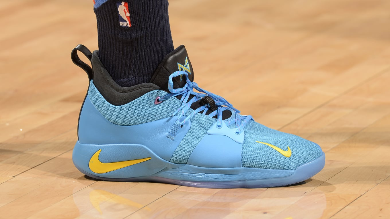 lowest price 7bb45 68178 Paul George Nike PG2 PEs | Sole Collector