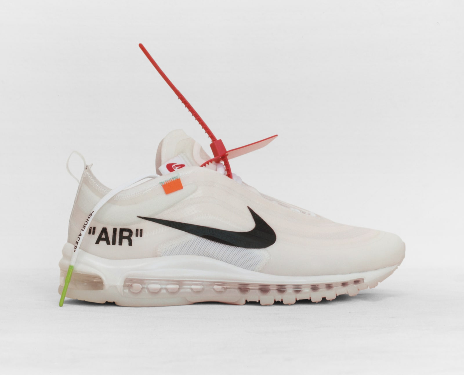 b4606d9093 Off-White x Nike Air Max 97 OG Black/Cone/Black/White AJ4585-001 Off ...