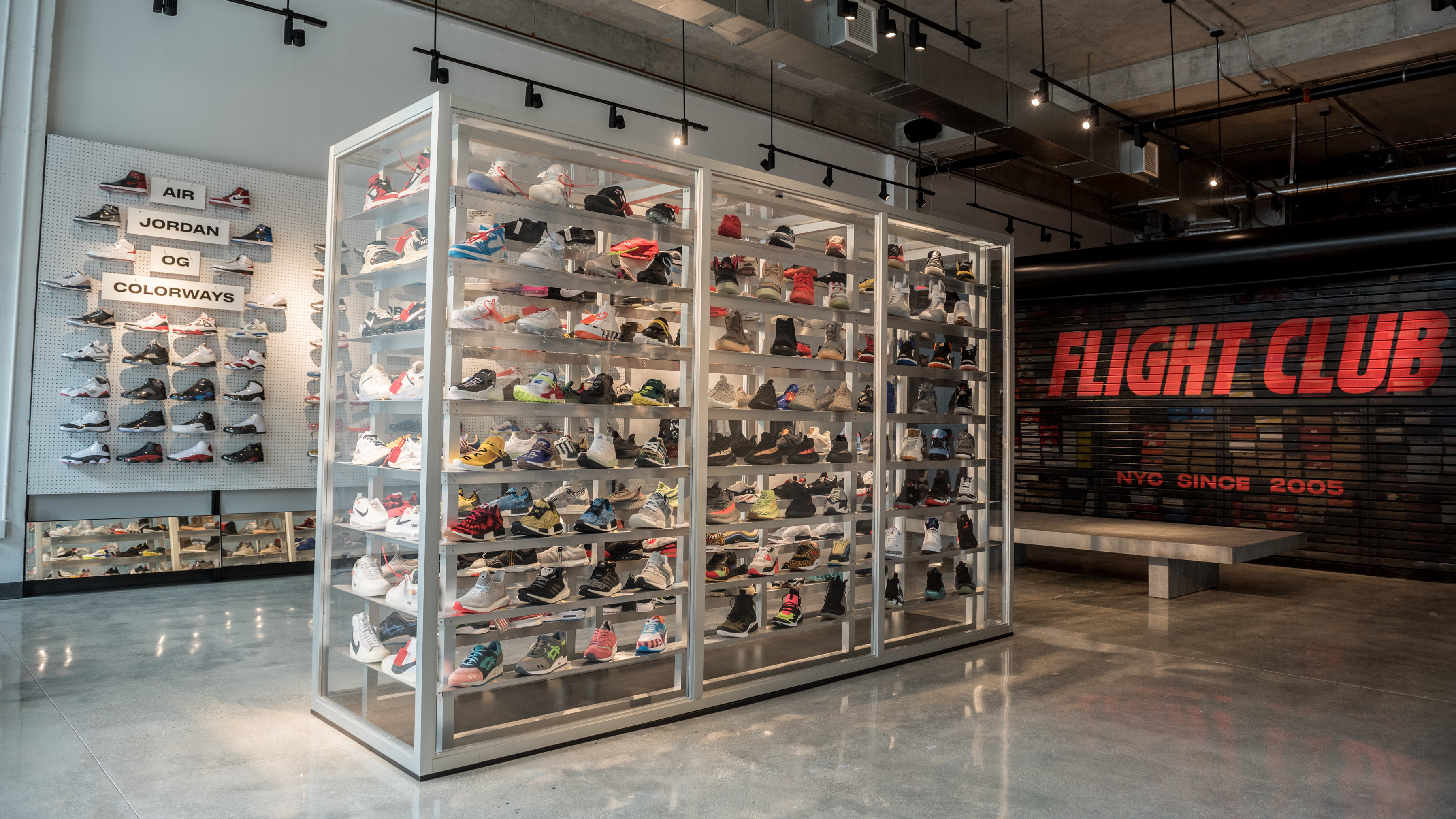 best service d526b 5f44c Flight Club Opens Pop-Up Location in Miami | Sole Collector