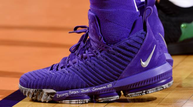 fbe4cdd61f8bc  SoleWatch  LeBron James Debuts All-Purple LeBron 16s