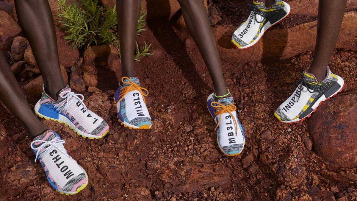 0ee949c0381ae Pharrell x Adidas Hu NMD  Solar Pack  Release Date BB9527 BB9528 ...