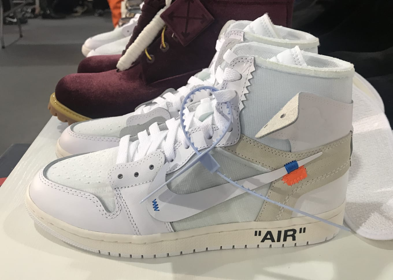 df398cb8bee New Off-White x Air Jordan 1s Debut in Paris | Sole Collector