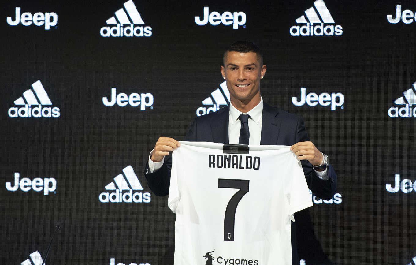 designer fashion 2acc7 37c8e Adidas Sold $60 Million Worth of Ronaldo Jerseys in 24 Hours ...