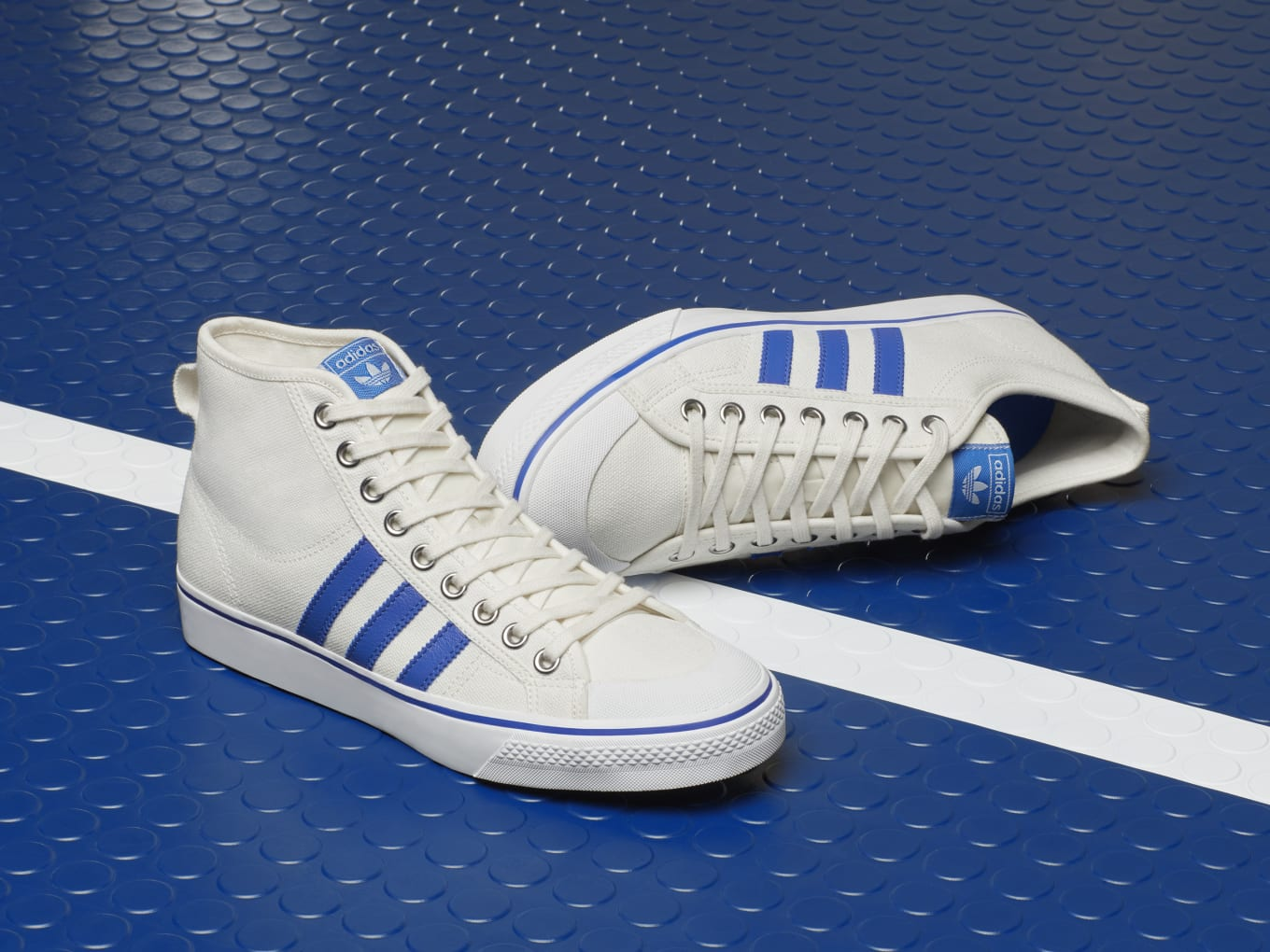 quality 100% authentic dirt cheap Adidas Nizza Hi and Low
