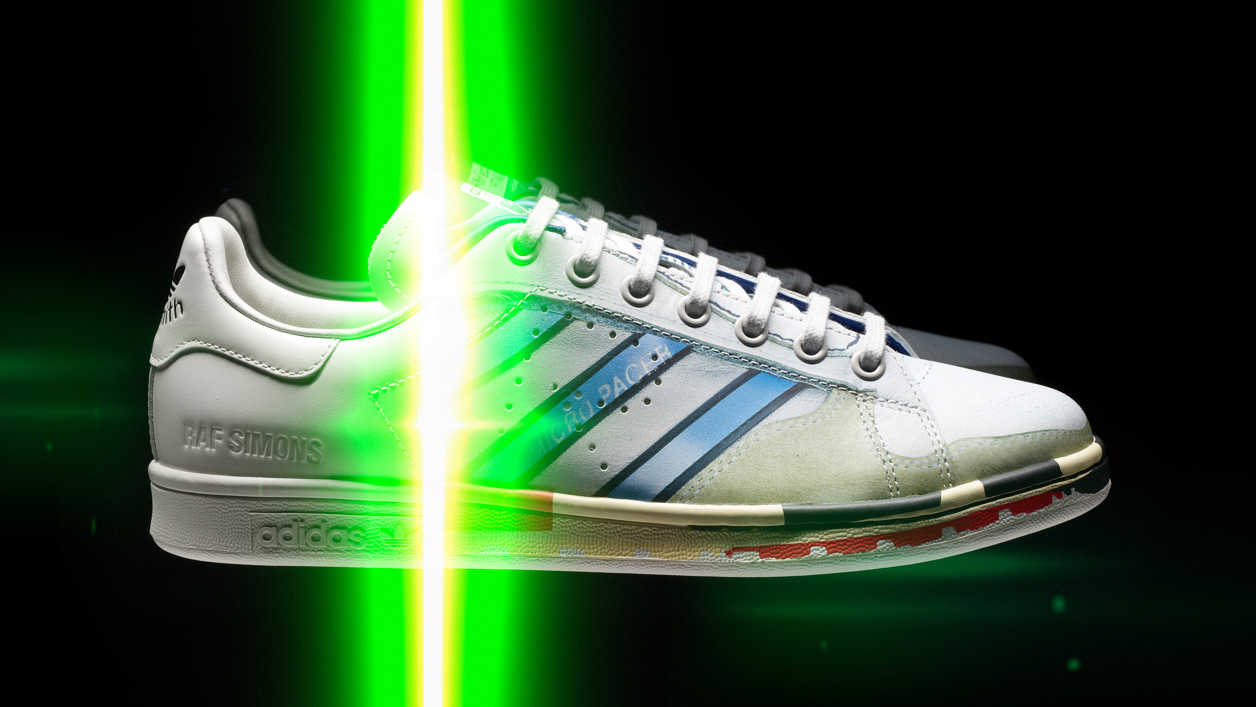 buy popular 2750f 0e086 Raf Simons Previews New Adidas Stan Smiths With 3D Graphics   Sole Collector