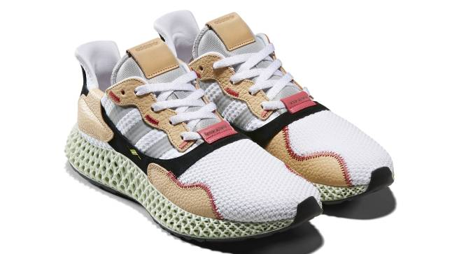 online retailer 3a0f4 ced63 Hender Scheme's Latest Adidas Collab Features the ZX 4000 4D