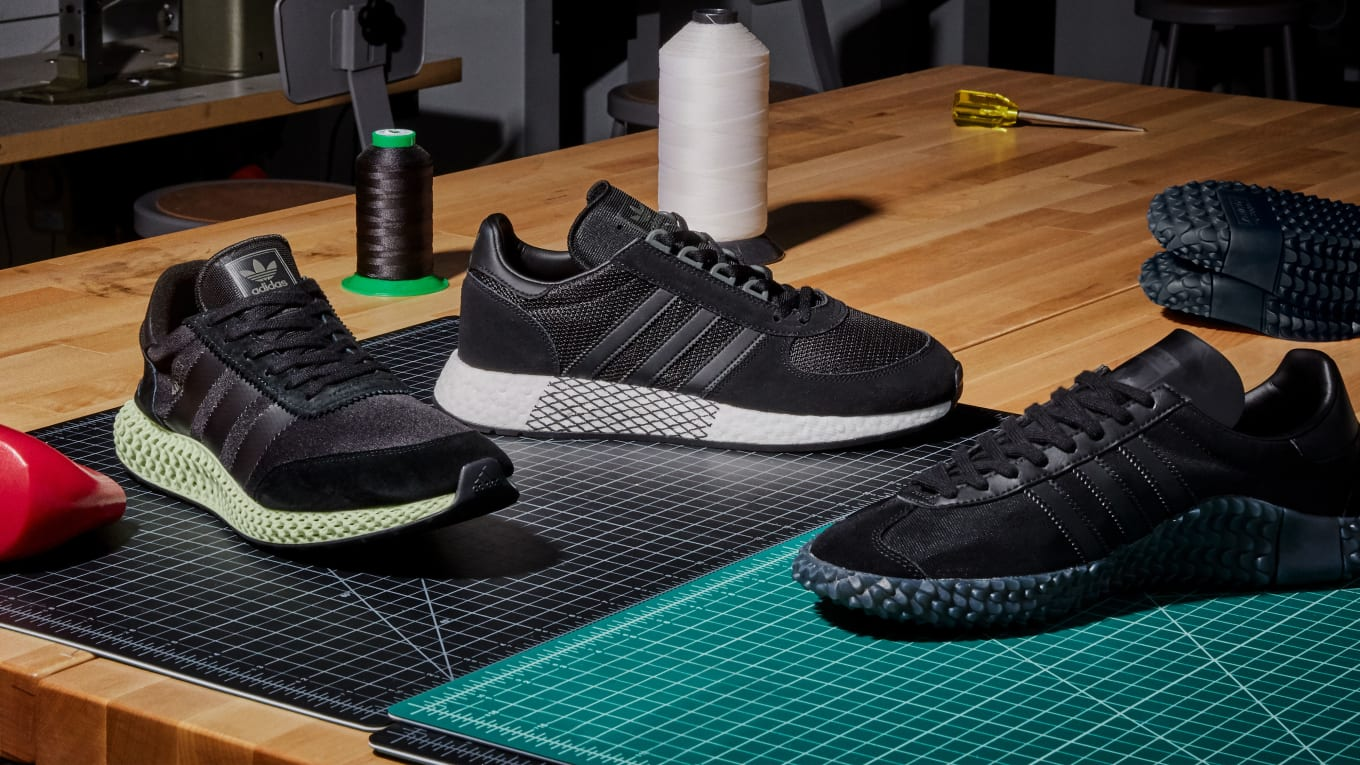 Adidas Never Made Collection  Triple Black  Release Date  46edc835c